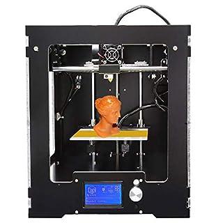 3D Drucker 3D Printer, 4.3 Inch Touchscreen,3D Drucker Mit Metallrahmen Struktur Baugröße Für Schule Industrie CNC 3D-Drucker Works with ABS and PLA