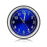 MOGOI Reloj de salpicadero de Coche Universal para la ventilación del Coche, Reloj de Cuarzo, decoración Interior de automóviles, Reloj Adhesivo para Oficina, Coche, SUV, MPV.