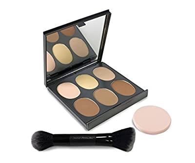 Magic Minerals All-In-One Powder Foundation, Face Powder with Stubby Brush by Jerome Alexander from Jerome Alexander Consulting Corp