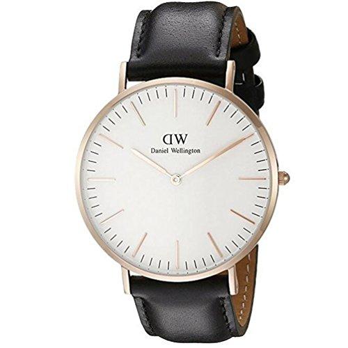 Daniel Wellington Men's Quartz Watch Classic Sheffield 0107DW with Leather Strap