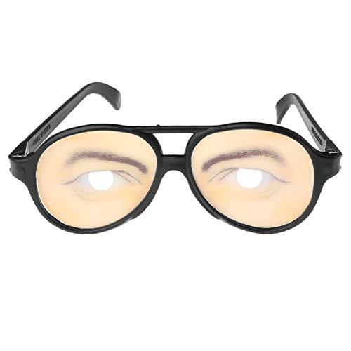 Verrückte Augen Gläser Lustige Spezifikationen Form ändernden Farben Halloween Party Witz Geschenke