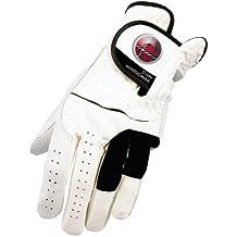 Colin Montgomerie CMGLCADFLW3L - Guante de golf, color blanco, talla L