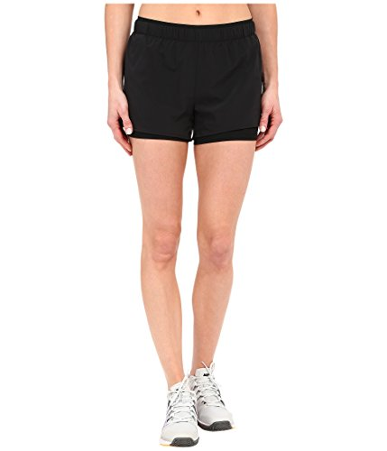 Nike Damen Full Flex 2-in-1Shorts, Schwarz,  Gr. XL (Nike Taschen Für Frauen Fitness-studio)