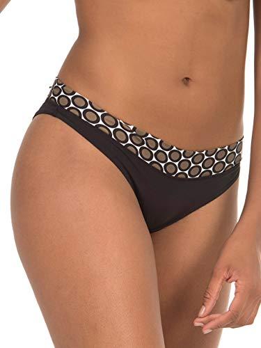 Sellmark Mare - Bañador para Mujer, Talla Alta, Color marrón marrón M