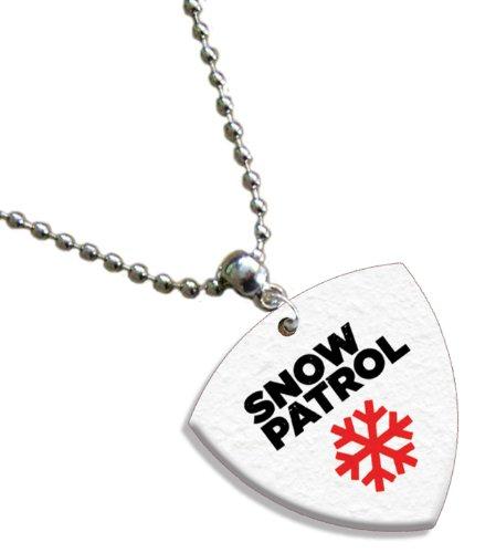 Snow Patrol Bass (1mm Heavy gauge) Gitarre Pick Plektron Kette -