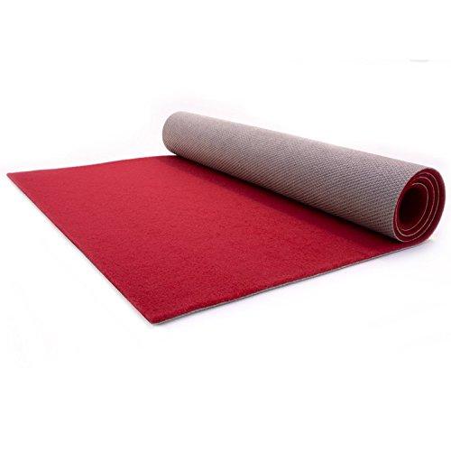 Roter Teppich - Hochzeitsteppich - VIP Teppich - Eventtepich - Premium - 1,00m x 2,00m