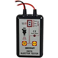 kolsol all-sun Inyector comprobador automático Inyector de Combustible Probador 4modos de pulso 12V diagnóstico