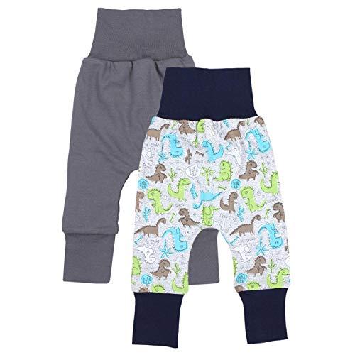 TupTam Baby Jungen Mitwachshose 2er Pack, Farbe: Farbenmix 2, Größe: 92/98 2er-pack Baby-hose