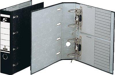 5 Star 794869 Classeur A4 double mécanisme pour 2 x DIN A5 paysage Noir (Import Allemagne)