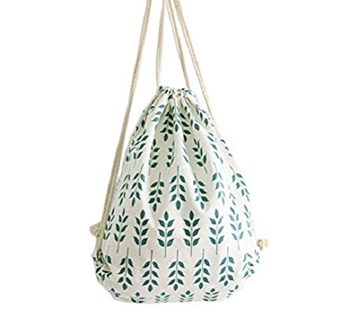 Laat coulisse zaino borsa di tela sport borsa a spalla sacchi in cotone e lino zaino College vento