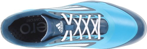 Chaussures De Golf Adidas Adizero One Solarmet / Blanc / Tribe Bleu Adidas 2014
