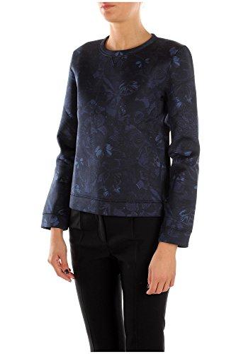 JBMF00S243598 Valentino Pulls Molletonnés Femme Coton Bleu Bleu
