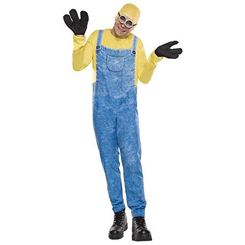 Minions Herren Kostüm Minion Bob Overall Karneval Fasching Gr.M/L
