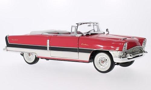 packard-caribbean-convertible-avec-noire-streifen-rouge-clair-blanche-1955-voiture-miniature-miniatu
