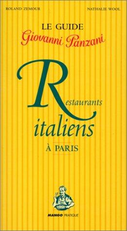 Guide des restaurants italiens à Paris