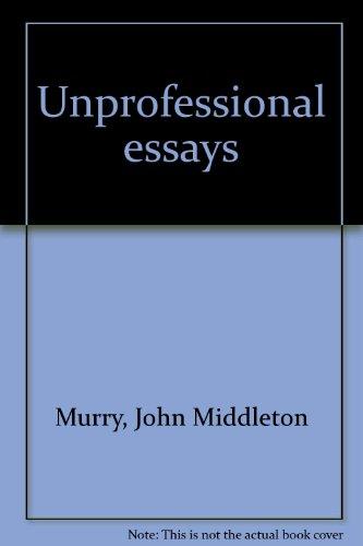Unprofessional Essays