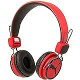 Puma Pmad3045red League On-Ear casque Compatible avec la plupart des iPhone Android, smartphones et tablettes–Rouge
