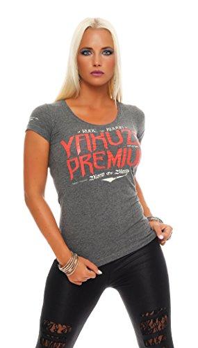 Yakuza Premium Damen T-Shirt GS-2137 Grau