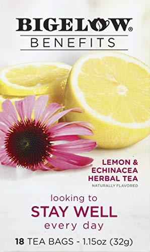 Bigelow Tea Lemon Echinacea, 32g, 18ct