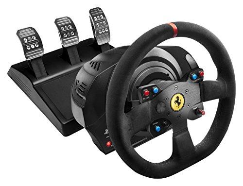 Thrustmaster T300 Ferrari Alcantara Edition Racing Wheel (PS4/PS3/PC DVD) [Edizione: Regno Unito]
