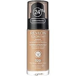REVLON Fond de Teint ColorStay Peaux Mixtes à Grasses N° 320 True Beige - 30 ml