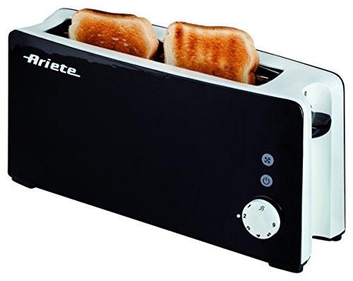 Il tostapane Long Slot stabilisce un nuovo record di eleganza e gusto: un tostapane extra per fette di pane extra-large in modo da poter stupire i vostri amici!Modello127Codice00C012701AR0Potenza1000 WattToaster con 6 livelliFunzioni di defrosting e ...