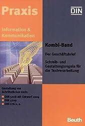 Kombi-Band Der Geschäftsbrief - Schreib- und Gestaltungsregeln für die Textverarbeitung, 2 Bde.