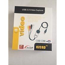 EzCap TV 116 Appareil de capture vidéo USB 2.0 Conversion audio et vidéo à partir de VHS, V8, Hi8, tous caméscopes, magnétoscopes, lecteurs DVD, TV satellite, TNT, etc. Capture d'images Xbox 360 et Playstation 3 en couleurs PAL 60 Logiciel Arcsoft Showbiz 3.5 inclus Sortie en 16:9 ou 4:3. Télécharge des vidéos directement vers YouTube Compatible Windows XP, Vista & Windows 7 32 et 64 bits.