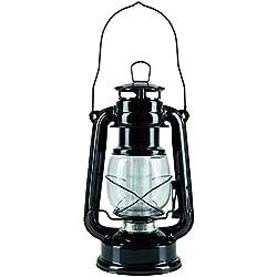 Idena Classic Campinglaterne mit 12 LEDs, Design Öllampe, dimmbar, Höhe circa 25 cm 10032443
