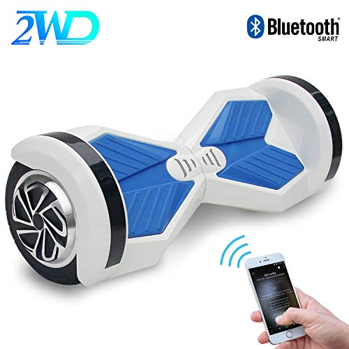 2WD Hoverboard Scooter Eléctrico 2 Rueda Self Balancing Scooter con Bluetooth Scooter...