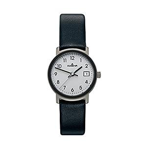 Dugena Damen-Armbanduhr Modern Classic Analog Quarz Leder 4298403