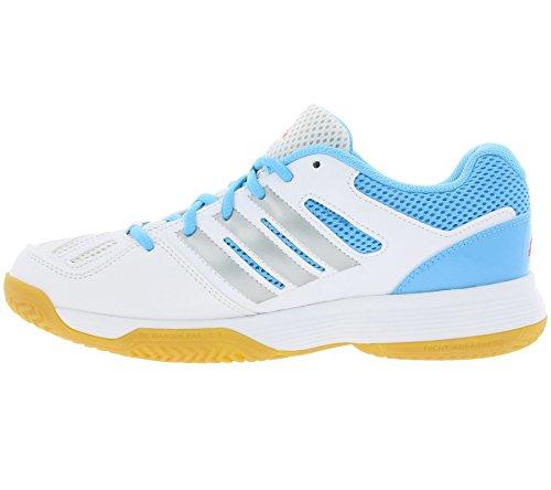 Adidas Speed Court 8W–Scarpe da tennis Bianco - bianco/azzurro