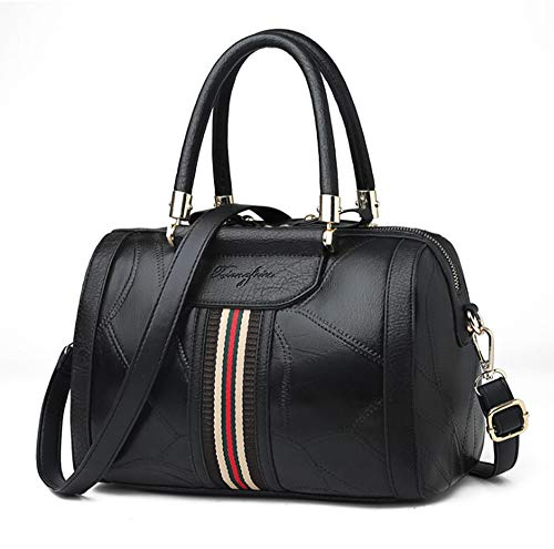 Echtes Schaffell Handtasche 2019 New Damenhandtasche European and American Fashion Boston Bag Schaffell Schulter Diagonal Bag - Echtem Schaffell