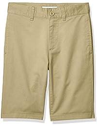 Amazon Essentials Flat Front Uniform Chino Short Niños
