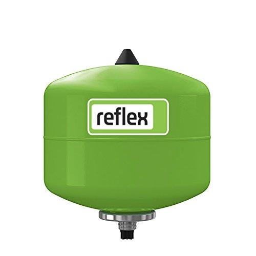 Reflex Membran-Druckausdehnungsgefäß refix DD grün, 10 bar 8 l 7308000