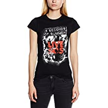 5 Seconds Of Summer Live SOS - Camiseta manga corta para mujer
