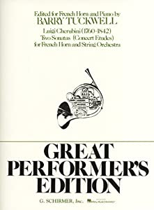 Luigi Cherubini: Two Sonatas For French Horn (Horn/Piano). Sheet Music for French Horn, Piano Accompaniment