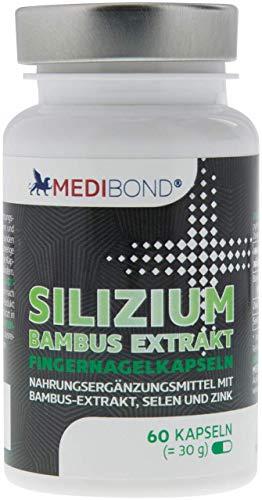Silizium Bambus Extrakt Medibond 60 Kapseln