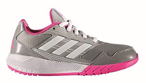 adidas  Altarun K, chaussure de sport Unisexe - enfant Grigio (Grimed/Ftwbla/Rosimp)