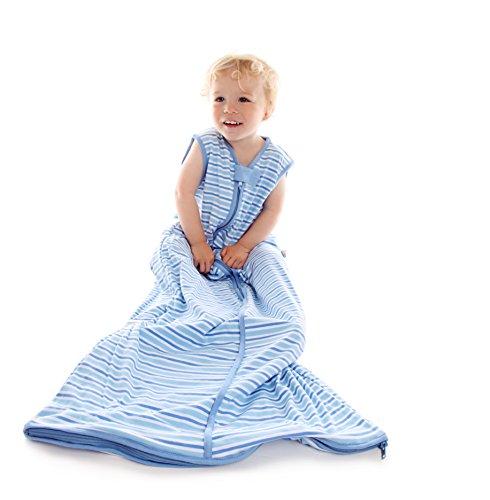 Schlummersack Winter Babyschlafsack 3.5 Tog - Blaue Streifen - 12-36 Monate/110 cm (Hello Kleidung Kitty Kleinkind)