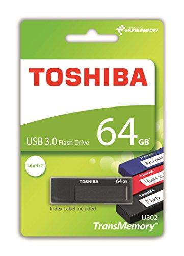 Toshiba TransMemory - Memoria USB U302 de 64 GB
