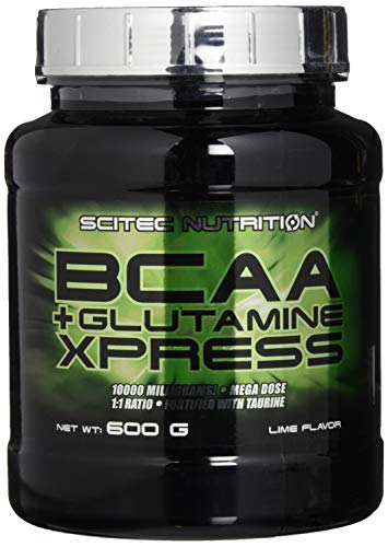 Scitec Nutrition Amino BCAA + Glutamine Xpress, Limetten, 600g -