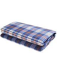Manta / Mantel para picknic, 139'7cm x 152'4cm, azul, SY-037-01