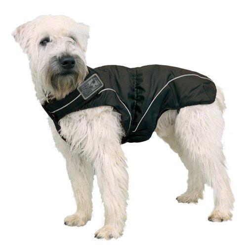 DOGBITE Winterjacke FLEXIBLE SYSTEM Schwarz Mantel für Hunde 50cm - 2
