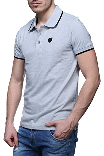 Redskins Polo-Hemd East2 Hoos Grey Gris