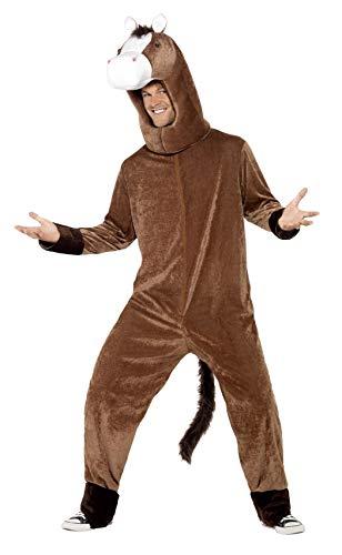 Für 2 Kostüm Pferd - Smiffy's 41037 - Pferd Kostüm mit Bodysuit und Hood