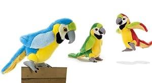 """Felpa loro """"Rio"""" - 24 cm - varios colores - Precio por pieza! , Modelos/colores Surtidos, 1 Unidad"""