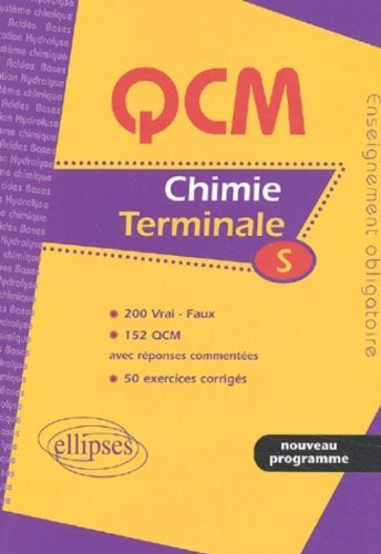 Chimie Terminale S : Enseignement obligatoire by Gaël Alligand (2002-10-29)