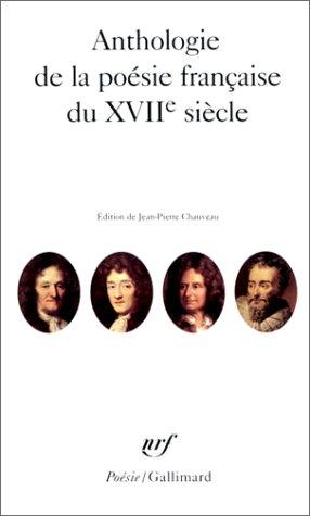 Anthologie de la poésie française du XVIIᵉ siècle
