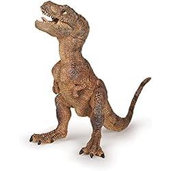 Papo - Cría T-Rex, Figura de Dinosaurio Pintada A Mano, color Marrón (2055029)